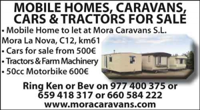 Mobile Homes Caravans to rent/buy